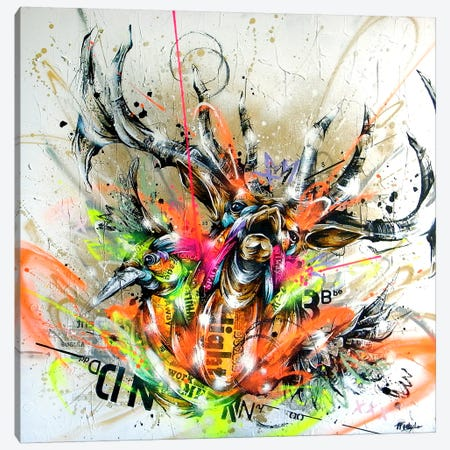 Beyond Canvas Print #TSO12} by Taka Sudo Canvas Artwork
