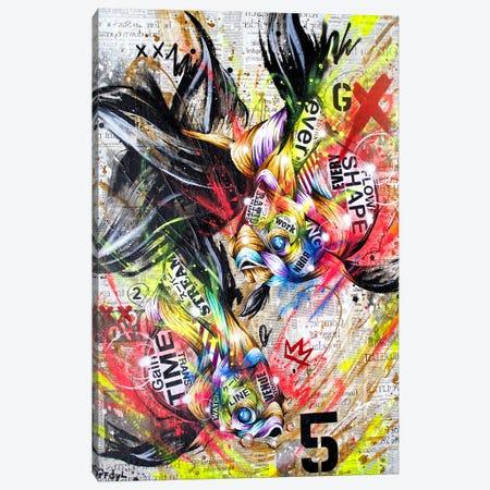 Circulation Canvas Print #TSO13} by Taka Sudo Canvas Wall Art