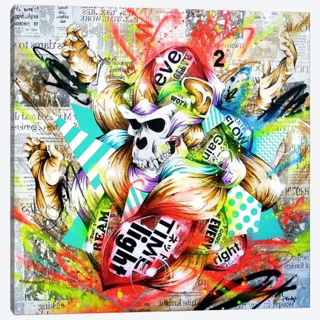 Feral Canvas Print #TSO14} by Taka Sudo Art Print