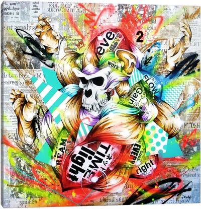 Feral Canvas Art Print