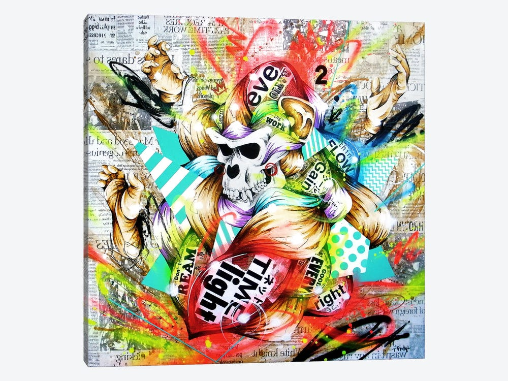 Feral by Taka Sudo 1-piece Canvas Art Print