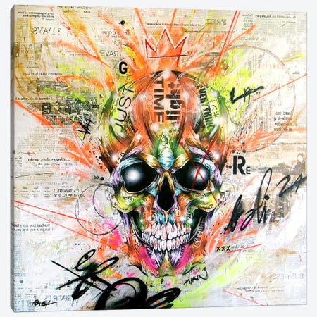 Gobalized_folklore Canvas Print #TSO15} by Taka Sudo Art Print