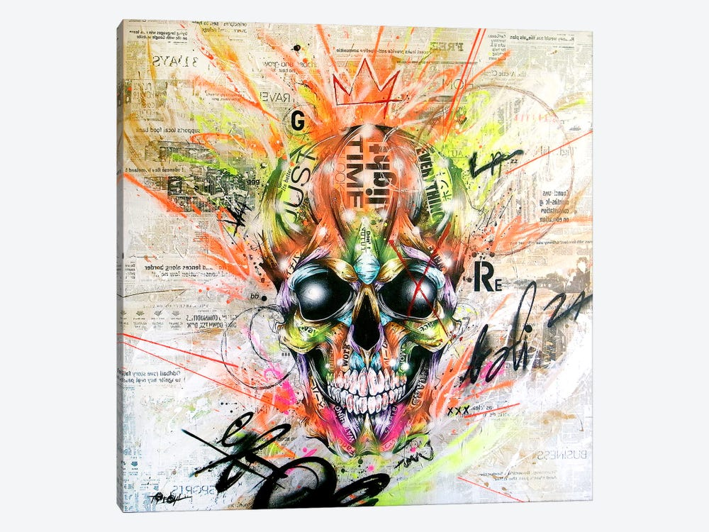 Gobalized_folklore by Taka Sudo 1-piece Canvas Art