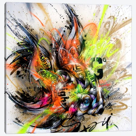 Golden Canvas Print #TSO16} by Taka Sudo Art Print