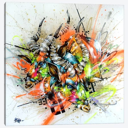 Hereabout Canvas Print #TSO17} by Taka Sudo Canvas Art Print