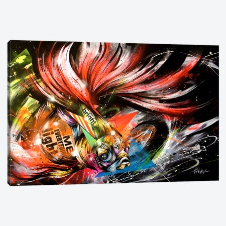 Hikari to Kage Canvas Print #TSO18} by Taka Sudo Canvas Wall Art