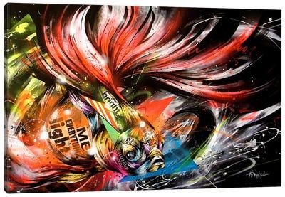 Hikari to Kage Canvas Art Print