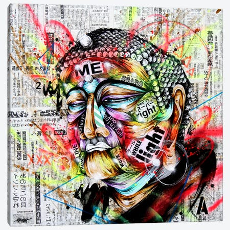 Holy Canvas Print #TSO19} by Taka Sudo Canvas Wall Art