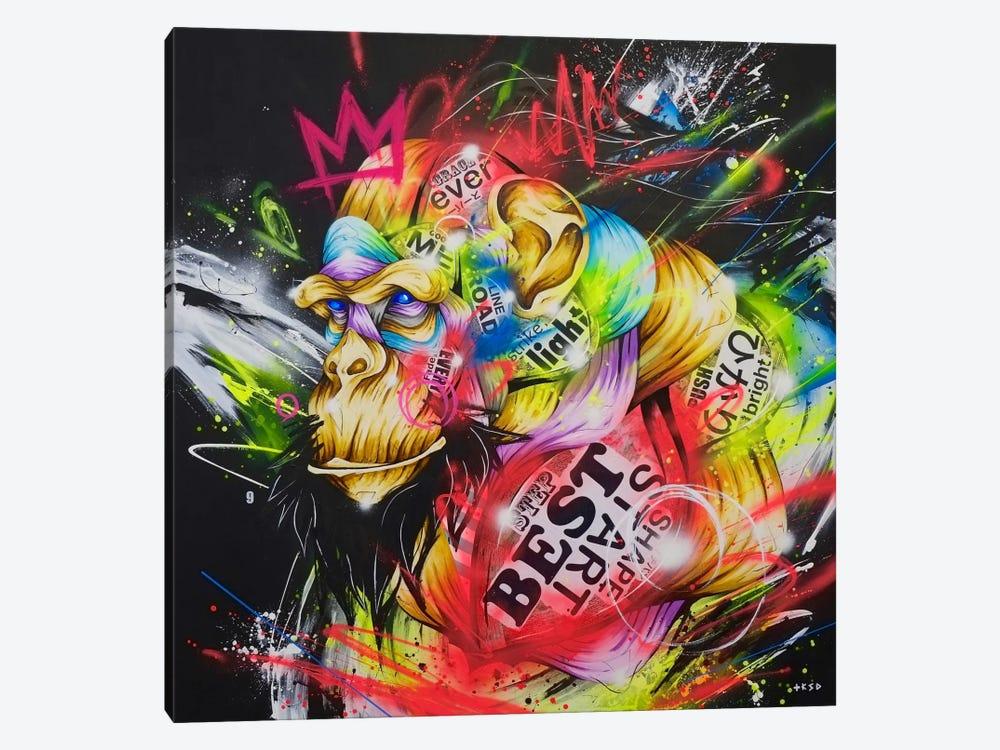 Samurai by Taka Sudo 1-piece Canvas Print