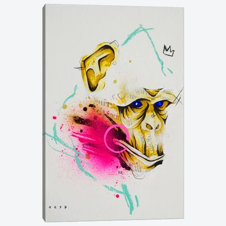 Saru Canvas Print #TSO26} by Taka Sudo Canvas Wall Art