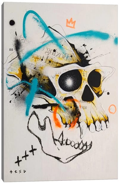 Untitled II Canvas Art Print