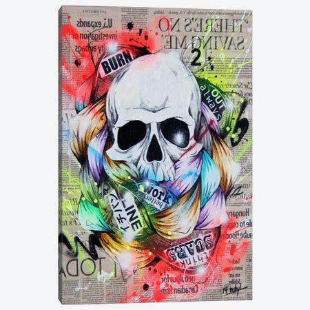 Visionary I Canvas Print #TSO29} by Taka Sudo Art Print