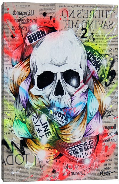 Visionary I Canvas Art Print
