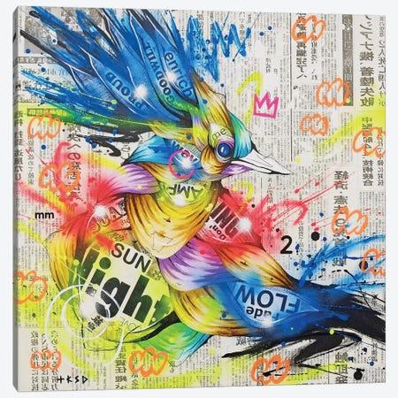 Aoitori Canvas Print #TSO33} by Taka Sudo Canvas Wall Art