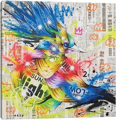 Aoitori Canvas Art Print