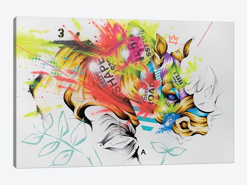 Charge by Taka Sudo 1-piece Canvas Art