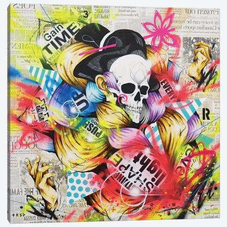 Dancer Canvas Print #TSO38} by Taka Sudo Canvas Wall Art