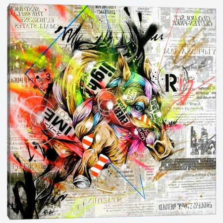 Pulse Canvas Print #TSO3} by Taka Sudo Art Print