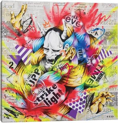 Performer Canvas Art Print