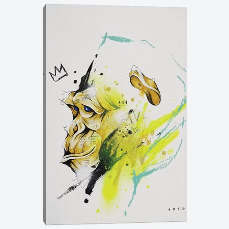Saru 3-Piece Canvas #TSO45} by Taka Sudo Canvas Art