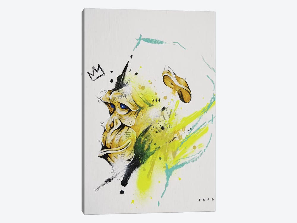 Saru by Taka Sudo 1-piece Canvas Art Print