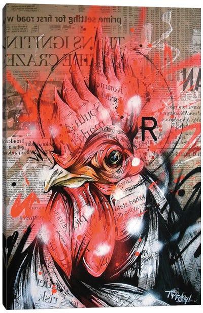 Wake Canvas Art Print