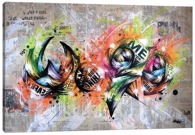 Word Canvas Art Print