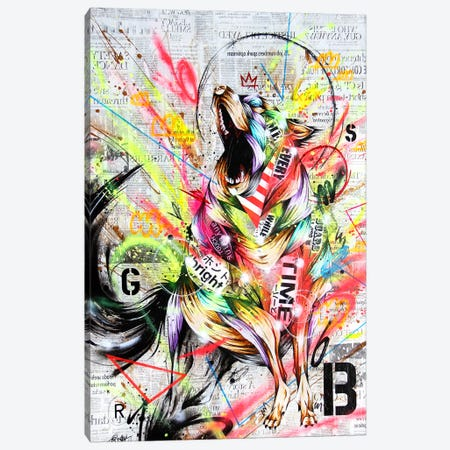 Rebel Canvas Print #TSO4} by Taka Sudo Canvas Art