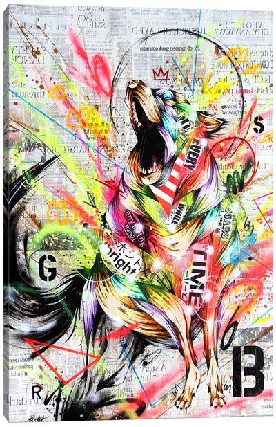 Rebel Canvas Art Print