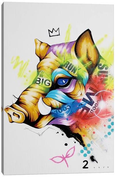 Forward Canvas Art Print