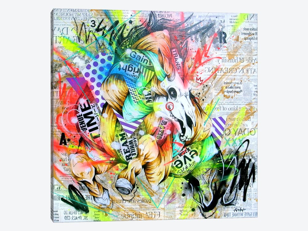 Spurt by Taka Sudo 1-piece Canvas Artwork
