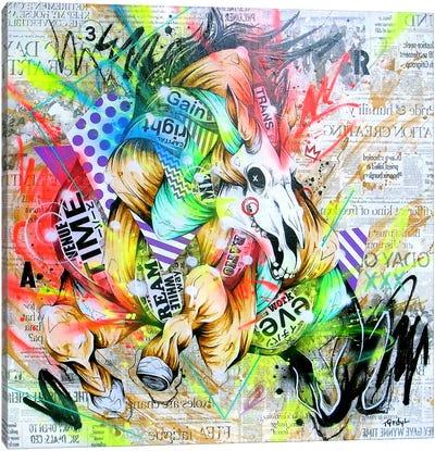 Spurt Canvas Art Print