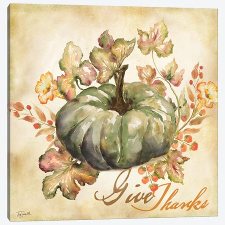 Watercolor Harvest I  Canvas Print #TSS103} by Tre Sorelle Studios Canvas Wall Art