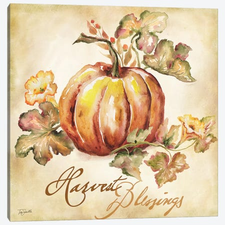 Watercolor Harvest III  Canvas Print #TSS105} by Tre Sorelle Studios Canvas Print
