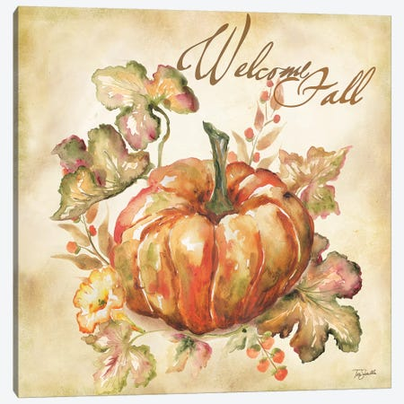 Watercolor Harvest IV  Canvas Print #TSS106} by Tre Sorelle Studios Canvas Print