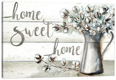 Farmhouse Cotton Home Sweet Home Canvas Art Print
