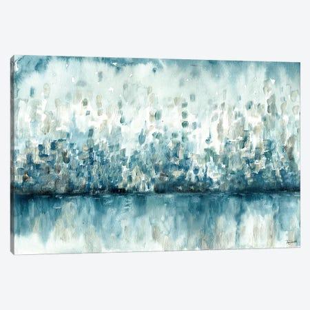 Lakeside Abstract Canvas Print #TSS149} by Tre Sorelle Studios Canvas Artwork