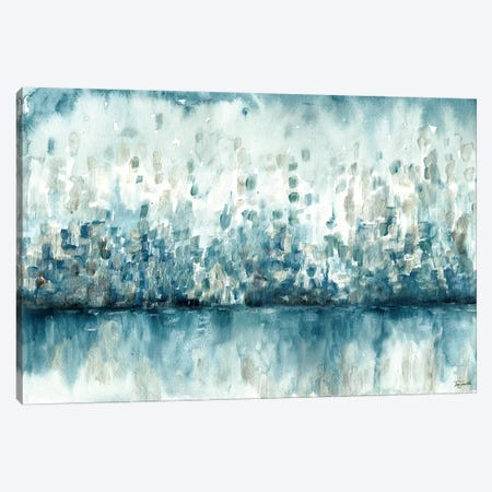 Lakeside Abstract Canvas Print #TSS149} by Tre Sorelle Studios Canvas Artwork