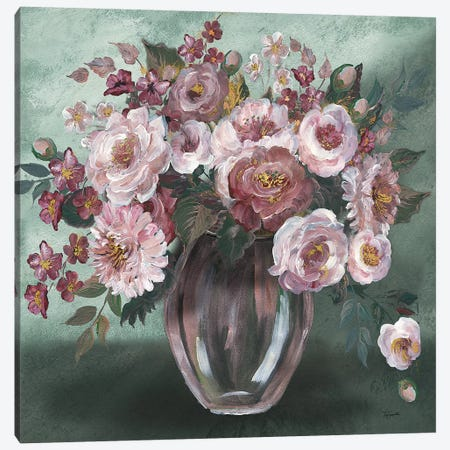 Romantic Moody Florals Canvas Print #TSS173} by Tre Sorelle Studios Canvas Art Print