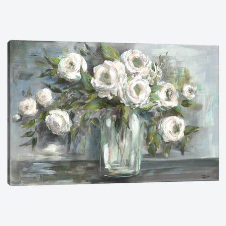 Soft Blooms Still Life Canvas Print #TSS178} by Tre Sorelle Studios Art Print