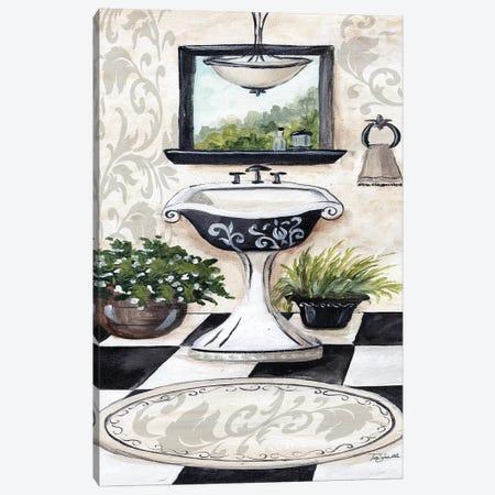 B/W Bath I Canvas Print #TSS203} by Tre Sorelle Studios Canvas Print