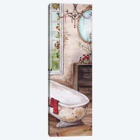 French Country Bath I Canvas Print #TSS207} by Tre Sorelle Studios Canvas Wall Art