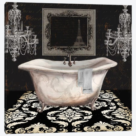 Midnight Bath II Canvas Print #TSS220} by Tre Sorelle Studios Canvas Print