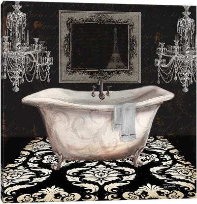 Midnight Bath II Canvas Art Print