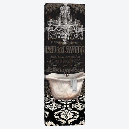 Midnight Bath Panel Canvas Print #TSS221} by Tre Sorelle Studios Art Print