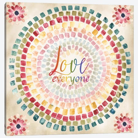 Mosaic Rainbow Round II Canvas Print #TSS241} by Tre Sorelle Studios Canvas Art Print