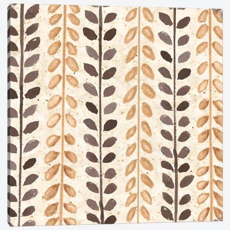 Warm Tribal Texture Botanicals I Canvas Print #TSS254} by Tre Sorelle Studios Canvas Print