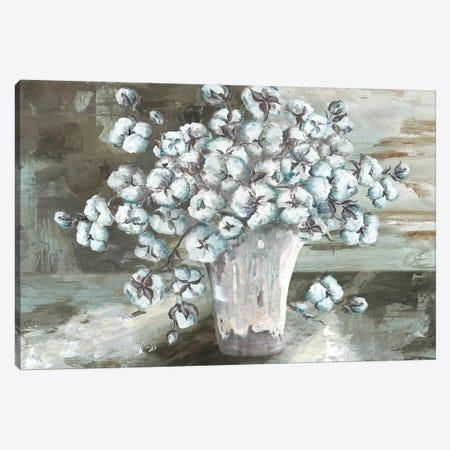 Farmhouse Cotton Bolls Still life Canvas Print #TSS32} by Tre Sorelle Studios Canvas Artwork