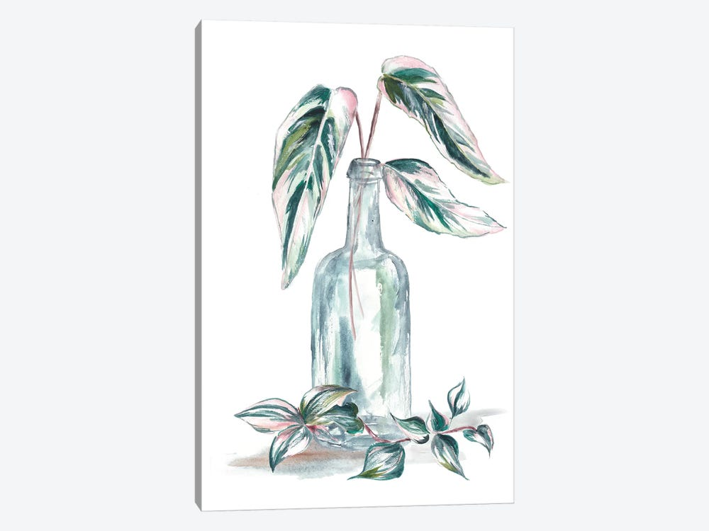 Island Tropics Frond In Bottle III by Tre Sorelle Studios 1-piece Canvas Artwork