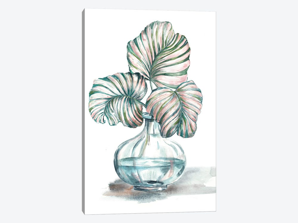 Island Tropics Frond In Bottle IV by Tre Sorelle Studios 1-piece Canvas Print